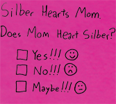 Silber Hearts Mom
